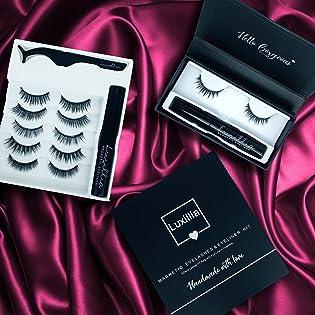 Luxillia Magnetic Eyelashe with Eyeliner Natural Look