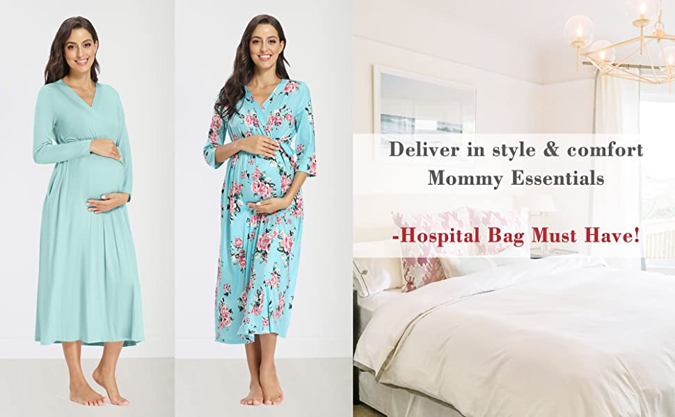 Maternity Robes for Hospital