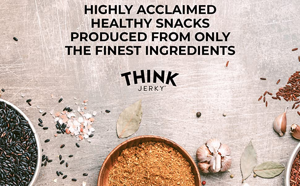 Fresh spices for original recipes on Jerky Sticks by Think Jerky