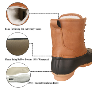 duck snow boots