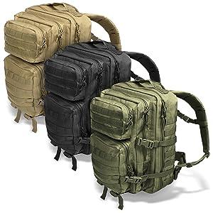 Assault Pack II alle Farben