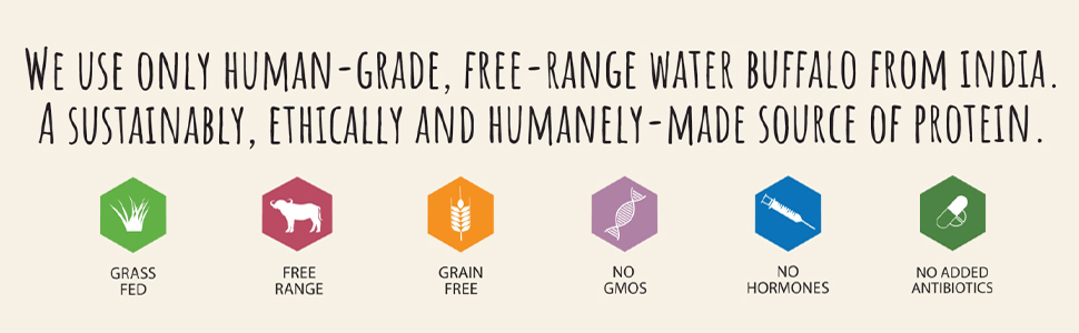 grass fed, free range, no gmos, grain free, no added hormones, no added antibiotics