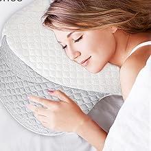pillow for neck pain,stomach pillow,butterfly pillow,sutera pillow,massage pillow