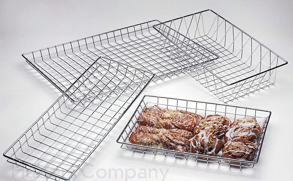 Wire Display Baskets Pastry Baskets Bakery Baskets Storage Baskets