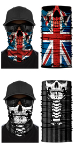 Beagle Floral Flowers Dustproof Sport Bandanas Balaclavas Magic Scarf Headband for Man Woman SFM-705
