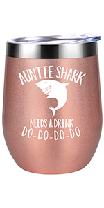 Auntie Shark Needs a Drink