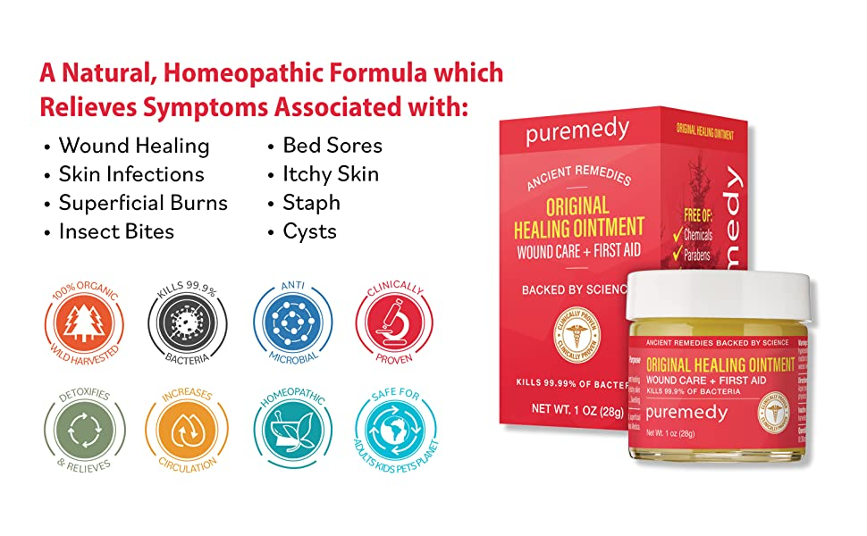 A natural homeopathic formula relieves symptoms