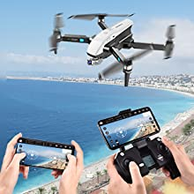 Flashandfocus.com 4e6526b0-604c-4279-b67d-a99c4ac280bb.__CR0,0,300,300_PT0_SX220_V1___ SIMREX X20 GPS Drone with 4K HD Camera 2-Axis Self stabilizing Gimbal 5G WiFi FPV Video RC Quadcopter Auto Return Home…