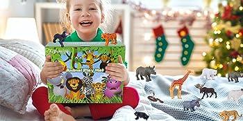 best gift for kids safari toys set