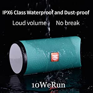 IPX6 Class Waterproof and Dust