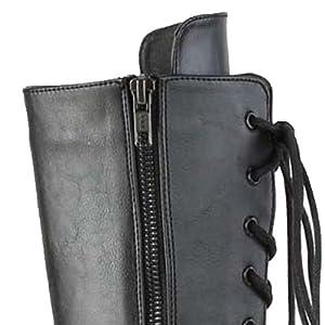zipper boots