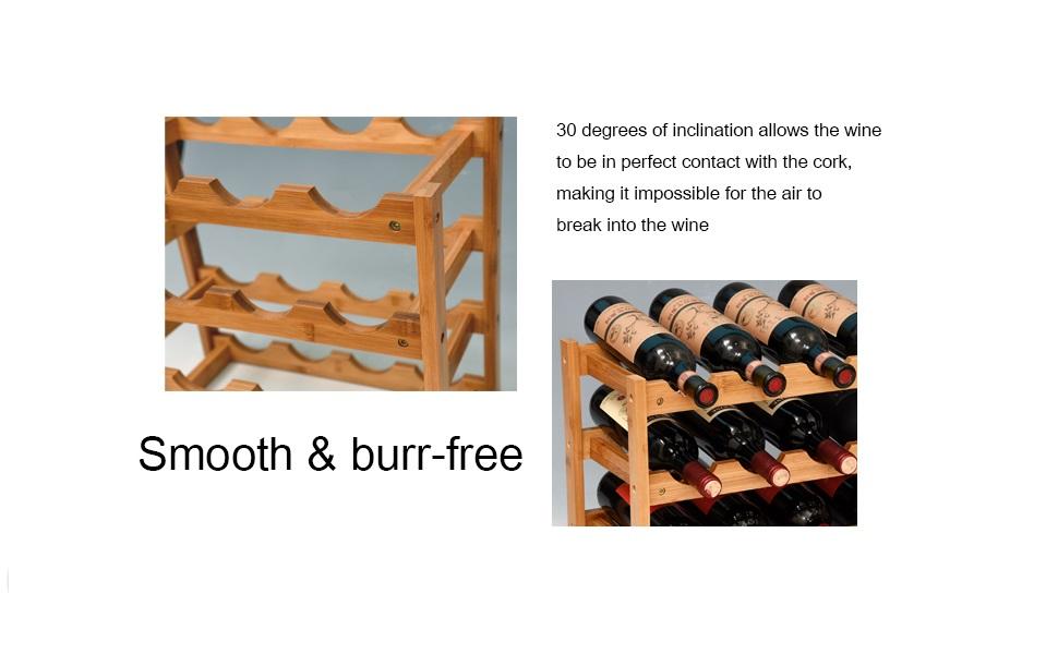 wine racks countertop
