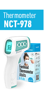 iProven NCT-978 Touchless Infrared Thermometer for Adults and Kids
