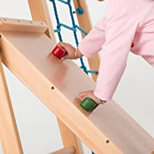 rock climbing holds, rock climbing, wooden playhouse, obstacle course for kids, jungle gym, slides