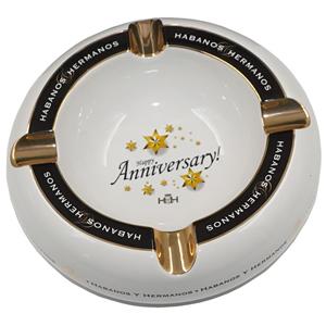 Hamp;H Cigar Ashtray Celebration Collection Happy Anniversary
