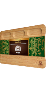Cutting Board with Built-In Compartments