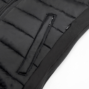 HOOCUCO Heated Vest for Man Electric Heating Coat Jacket Warm Clothing for Winter(No Battery)