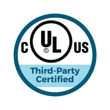 Third-party certified by UL