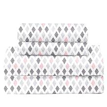 pink diamond sheet set
