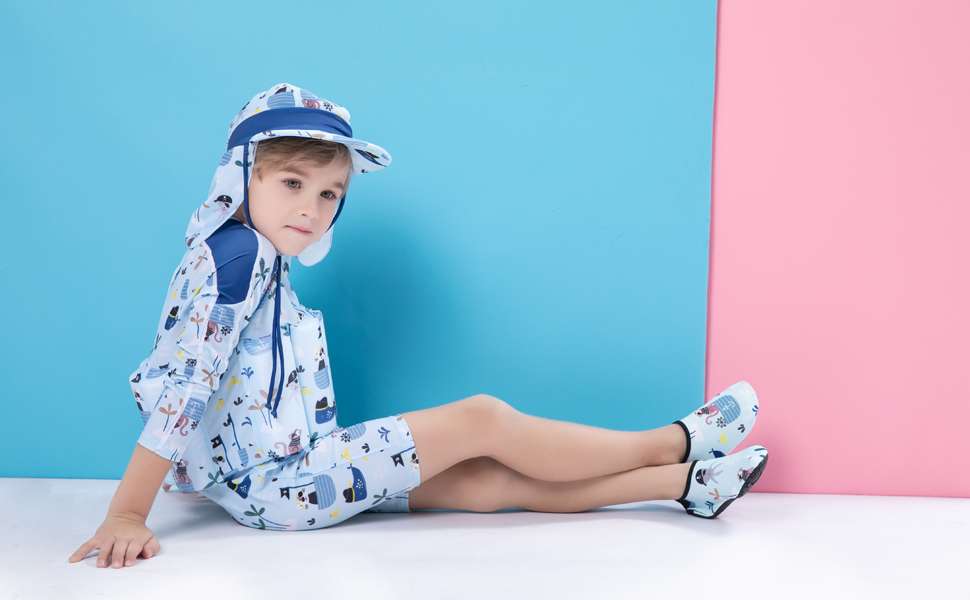 toddler swim suit uv one piece swimsuit UV kids