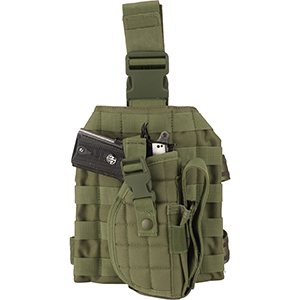 tactical vest leg holster
