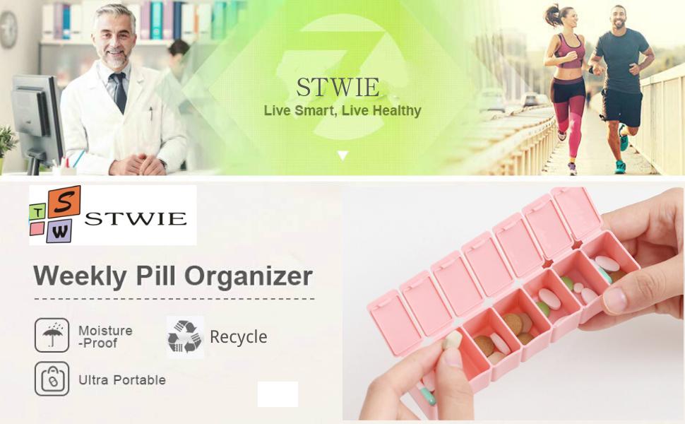 large pill organizer 7 day daily pill organizer small pill box pill dispenser organizer travel