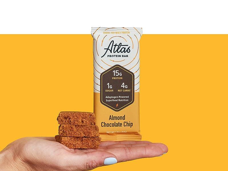 Atlas Bar Almond Chocolate Chip