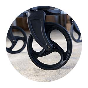 Upwalker, UPWalker upright walker, walker, walk upright, stability, wheels, tires, rubber