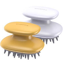 Dandruff Brush 2 PACK scalp massager hair growth silicone shampoo brush