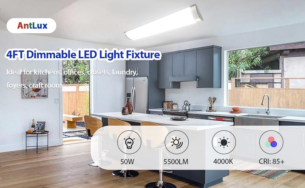 4ft led light fixture