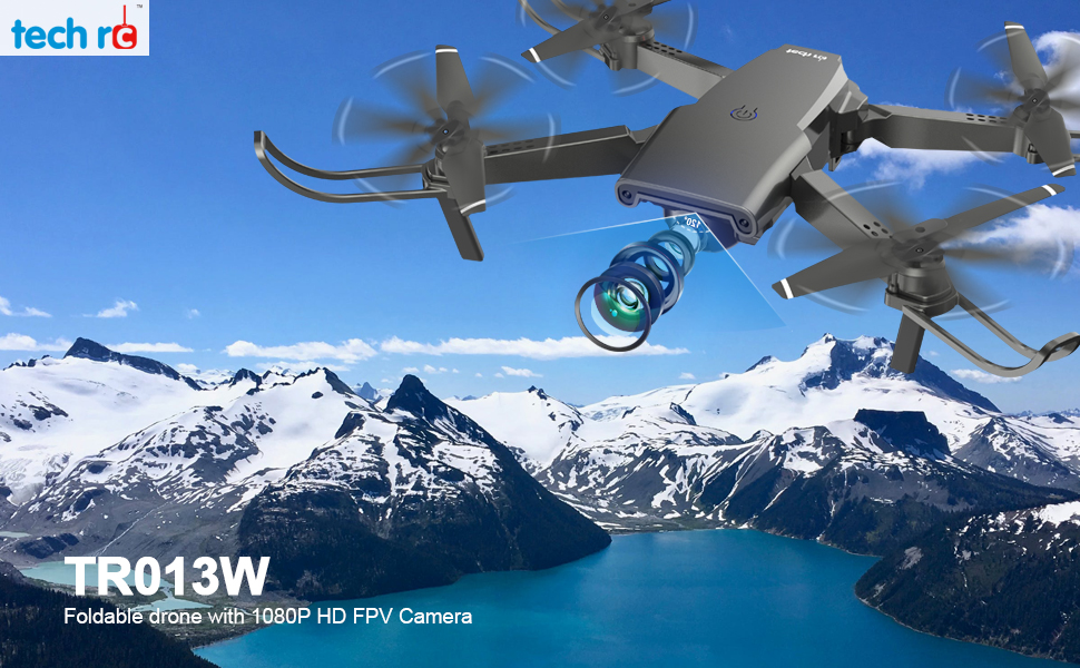 Drone plegable