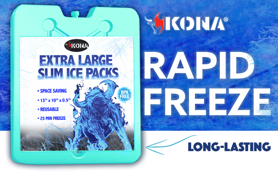 Rapid Freeze and Long Lasting