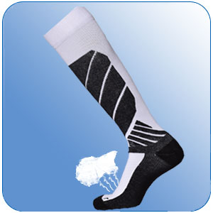 ski socks winter outdoor athletic cotton thermal high skiing stockings warm thick soft breathable