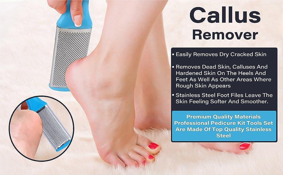 Callus Remover, Scraper , Pedicure Tools , Remove Dead Skin From Feet