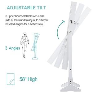 3 angle adjustable