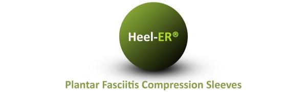 Heel-ER Plantar Fasciitis Compression Socks Sleeves Logo