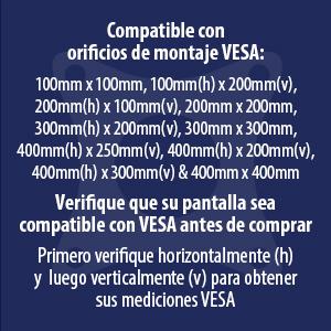 Invision HDTV-L Spain VESA Measurements Information