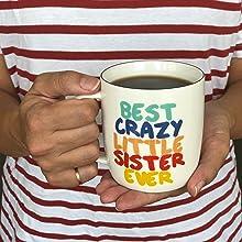 sister birthday gift, tea mug, tea cup, Sister gifts, sister gifts from sister, Gifts to sister