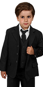 black, formal, suit, casual, image, photo, picture