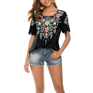 mexican tops for women