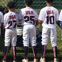 Patriot Baseball Socks