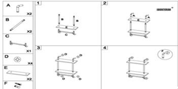 Install Instruction for Pipe Shelf
