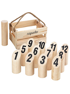 Wooden Throwing Molkky Game
