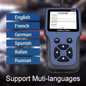Support Muti-languages