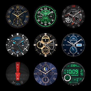 Thousands of watch faces.