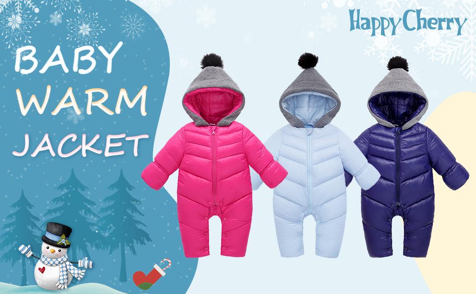 Unisex Baby Snowsuit