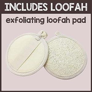 pureSCRUBS Loofah Included