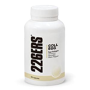 226ERS COLL-EGG, Membrana de Huevo y Calcio para Disminuir el Dolor de las Articulaciones - 60 Cápsulas