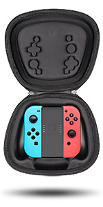 nintendo switch joycon grip case storage pouch fit