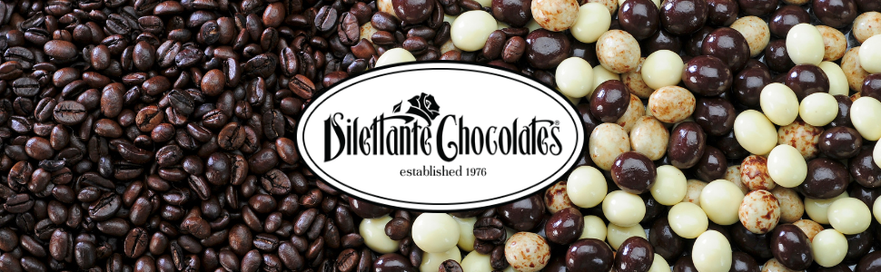 Dilettante Chocolates Specialty Chocolate Covered Espresso Beans
